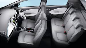 renault zoe boot space renault zoe interior image 43