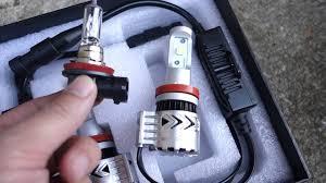 G7 Led Light Bulb by Broview V8 H11 6500k Led Light Bulb Review Youtube