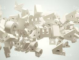 random 3d letters flying stock photo 513565925 istock