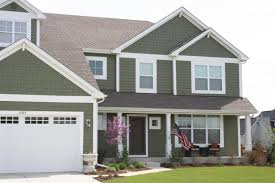 Traditional Craftsman Homes Exterior Paint Fiber Cement Siding For Traditional Exterior Home