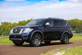 2017 nissan armada platinum the 2018 nissan armada platinum reserve has a feature all suvs