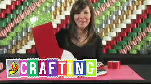 how to craft a duct tape christmas stocking youtube