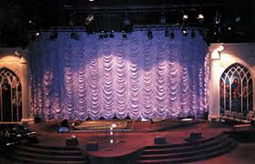 Theater Drape Stage Curtains