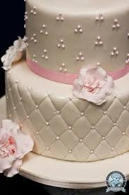 How To Decorate Christening Cake Pretty Wedding Cake I Would Change The Pink To Blue To Match My