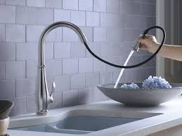 sink u0026 faucet three hole kitchen faucet delta cassidy faucet