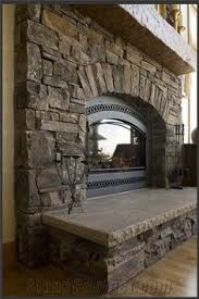 Stacked Stone Around Fireplace by Dry Stacked Stone Fireplace Design By Dennis Pinterest Dry