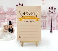 wedding advice cards wedding advice and wishes cards lemonwedding