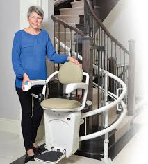 indoor chair stair lift rotating stairfriend savaria concord