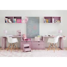 chambre gris et fushia chambre gris et fushia 7 bureau pour 2 enfants juniors