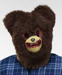 bandit mask halloween richard teddy bear mask halloween horror fancy dress costume