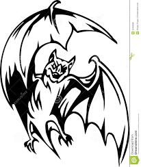 bat halloween set vector illustration royalty free stock