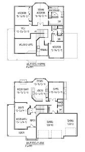 Simple Home Blueprints Surprising Idea 2 Story House Plans Free 3 4068 Home Act