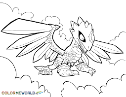 skylanders swap force magic trap shadow coloring page h m coloring