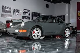 porsche gray 1994 porsche 3 6 turbo paint to sample finest available sold