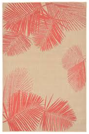 Coral Area Rug Terrace Palm Area Rug Coral Palm Tropical Style And Apartments