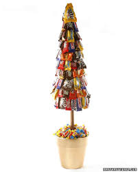 Candy Topiary Centerpieces - candy topiary u0026 video martha stewart