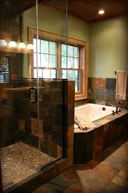 bathroom slate tile ideas best 25 slate bathroom ideas on charcoal bathroom