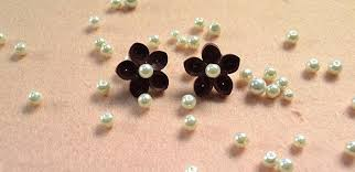 make stud earrings pandahall tutorial how to make a pair of beautiful quilling