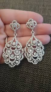 wedding earrings chandelier deco earrings chandelier earrings great gatsby earrings