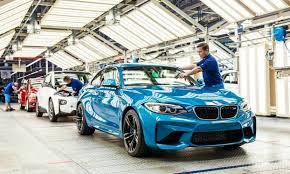 bmw car plant bmw reorganizes fwd and rwd production