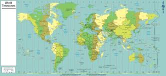 Us Times Zones Map by File Standard Time Zones Of The World 2007 Png Wikimedia Commons