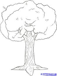 how to draw branches step by step trees pop culture free