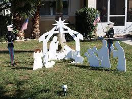 best outdoor nativity sets jen joes design