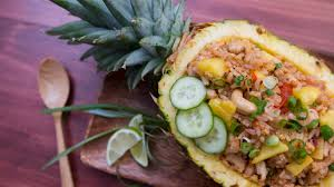 pineapple pineapple fried rice recipe tastemade