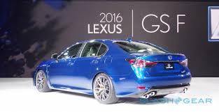 2016 lexus gs f new 2016 lexus gs f pairs luxe and lunatic slashgear