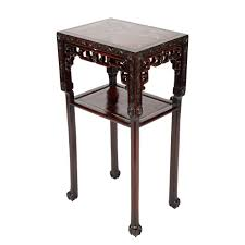 chinese carved rosewood stand chinese porcelain art jade
