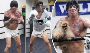 Mickey Rourke News Newslocker - mickey rourke 64 looks unrecognisable as he returns to boxing ring