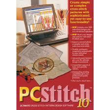 cross stitch pattern design software m r technologies pc stitch 10 professional cross stitch software