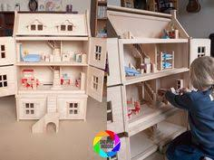 Modistamodesta Another Large Barbie House by Mamakiddies Victorian Wooden Doll House Furniture And Dol Https