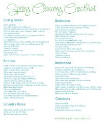 how to spring clean your house free spring cleaning printable checklist the happier homemaker