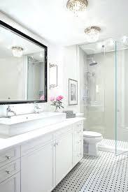 Flush Ceiling Lights For Bathroom Bathroom Flush Mount Ceiling Lights His And Pedestal Sinks