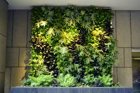 Vertical Garden System Beautify Your Office Interiorscape With A Living Vertical Garden