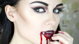 john vampire 2 jpg with face paint and halloween vampire