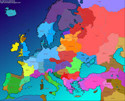A Map Of Europe Maps And Tables 4 Maps Of An Alternative Europe