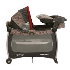 amazon com graco pack u0027n play silhouette playard with bassinet