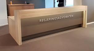 Front Reception Desk Front Reception Desk By Frilseth Design Oak Wood Reception