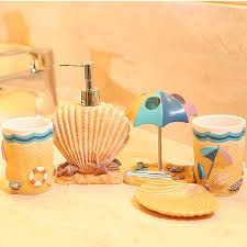 bathroom accessories orange interior design