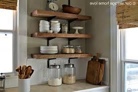 kitchen kitchen wall shelves regarding splendid open wall