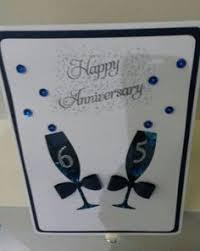 65th wedding anniversary gifts luxury sapphire 45th 65th wedding anniversary card handmade