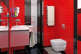 Red And Black Bathroom Decorating Ideas Inexpensive Red And Black Bathroom Decorating Ideas Blue Clawfoot