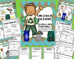 recycle compost earth day tally marks composting and homeschool