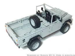 nissan lego lego built land rover defender 110 automotorblog
