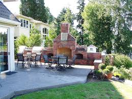 Backyard Fireplace Plans by Outdoor Fireplace Designs Home And Gardening