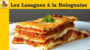 cuisine lasagne facile les lasagnes à la bolognaise recette facile