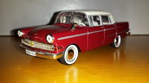 opel kapitan diecast opel kapitän p2 modelcar ixo opel collection eaglemoss