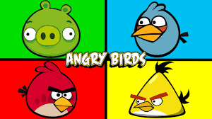 angry birds learning colors surprise eggs angrybirds